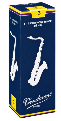 Vandoren Traditional tenor sax reeds