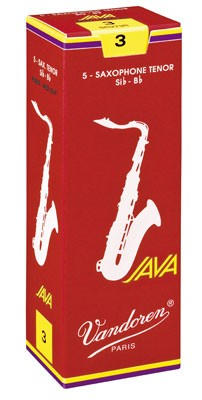 Vandoren Java Red tenor sax reeds
