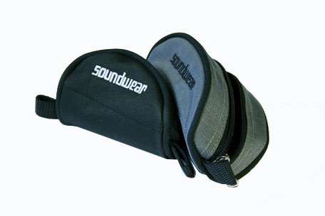 Soundwear mouthpiece pouch - large