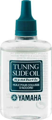 Yamaha tuning slide oil