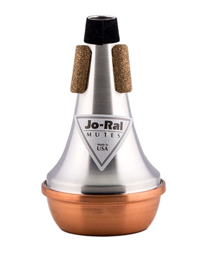 Piccolo trumpet Jo-Ral Straight Mute Copper