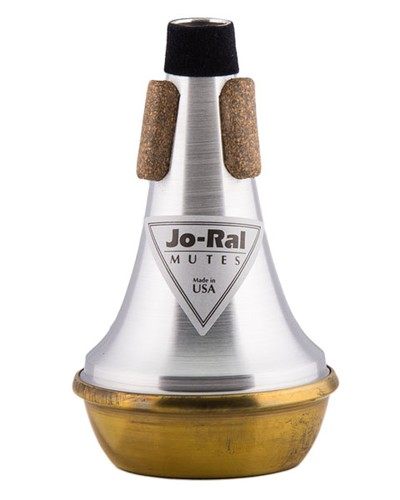 Trompet Piccolo Jo-Ral Straight Mute Messing TPT-5B