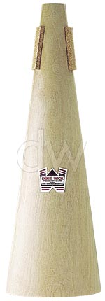 Bass trombone Denis Wick Wooden Straight Mute 5553
