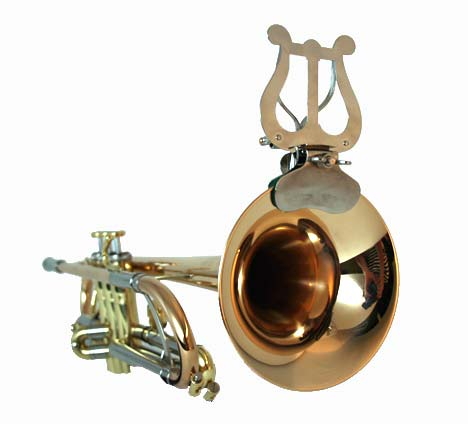 Lyre for trumpet bell