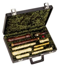 Quartet recorder case, Z1400