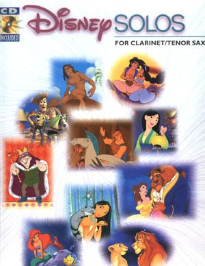 Disney Solos for clarinet/tenor sax