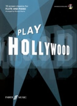Play Hollywood for flute and piano