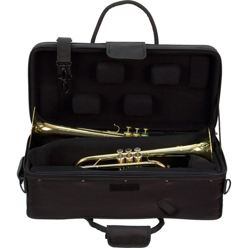 Protec IP-301DWL double trumpet case wheels
