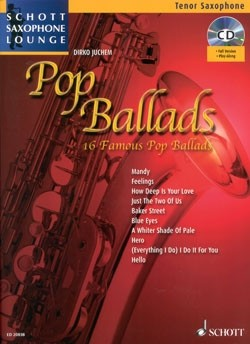Pop Ballads For Tenorsaxofon