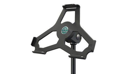 K&M iPad Air holder for microphone stand 19714