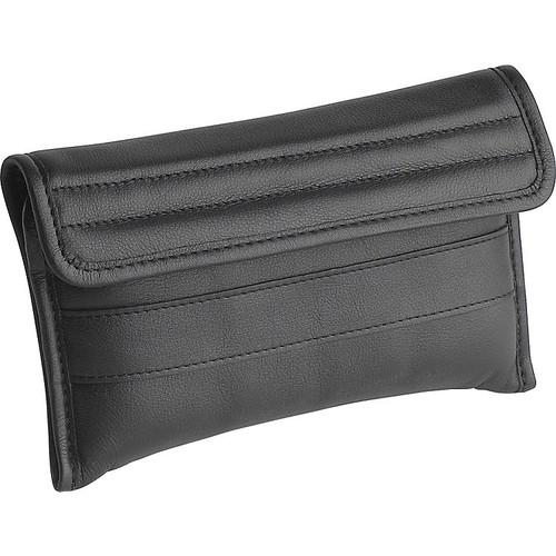 RB leather pouch for 8 cornet/trumpet mouthpieces
