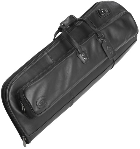 Reunion Blues tenor trombone leather case