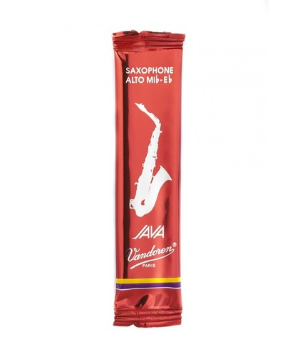Vandoren Java Red, single reed, alto sax