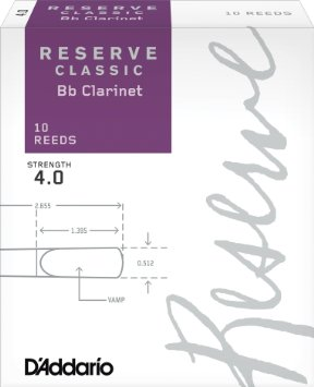 Reserve Classic Bb clarinet reeds