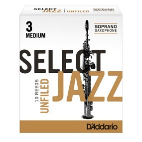 Jazz Select Unfiled soprano sax reeds