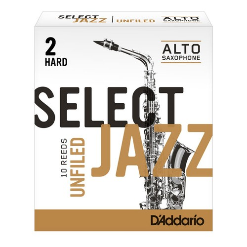 Select Jazz Unfiled alto sax reeds