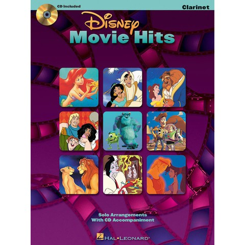 Disney Movie Hits for clarinet