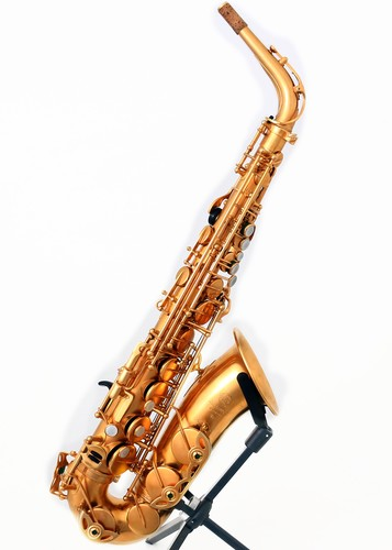 Selmer Altsax Mark VI 1973 Gold Plated
