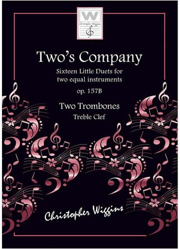 Two's Company for Two Trombones (Treble Cleff)