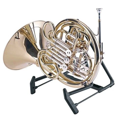 K&M 17580 French horn Stand Heli 2