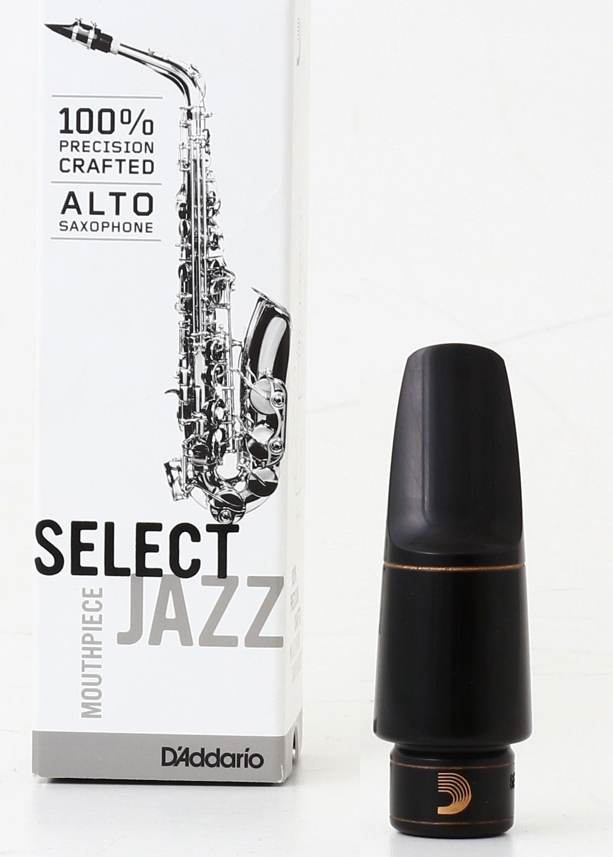 buy d 39 addario select jazz alto sax mouthpiece world wide shipping. Black Bedroom Furniture Sets. Home Design Ideas