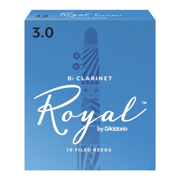 Rico Royal Bb clarinet reeds