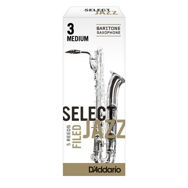 Rico Select Jazz Filed baritone sax reeds