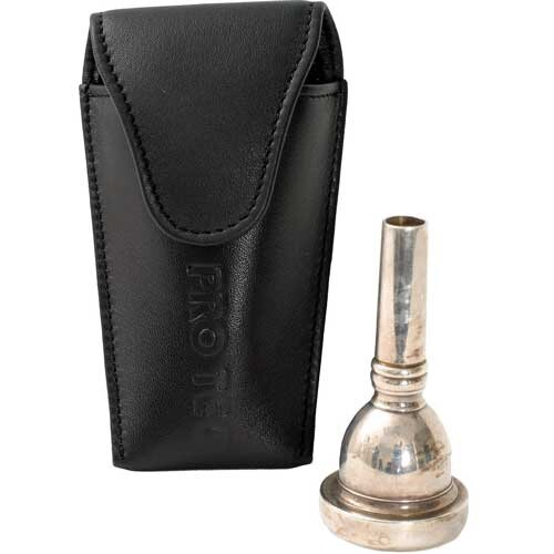 ProTec leather pouch for large brass mouthpiece L204