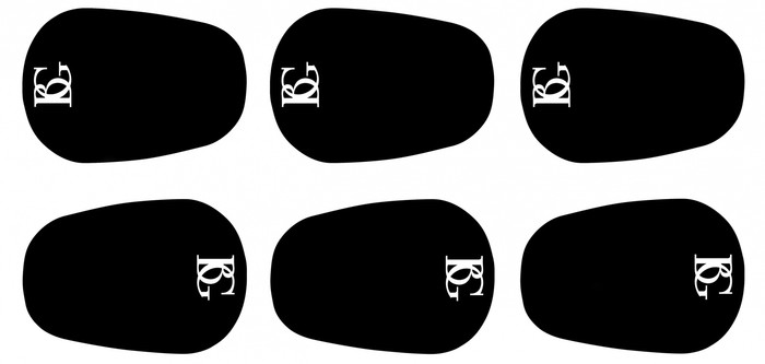 BG mouthpiece cushions - 6 pieces