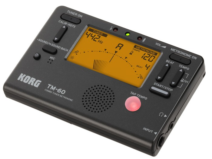 KORG TM60 tuner and metronome