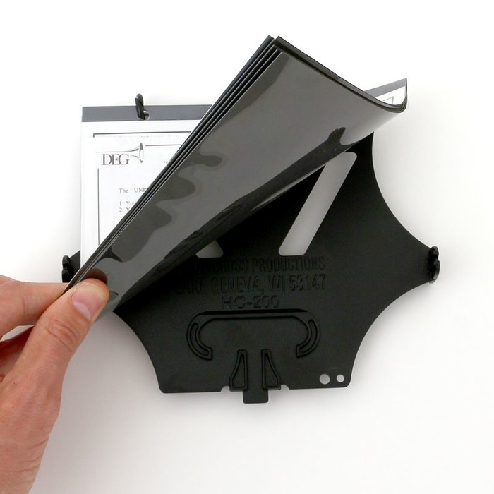 Universal flip folder w/5 loose pockets