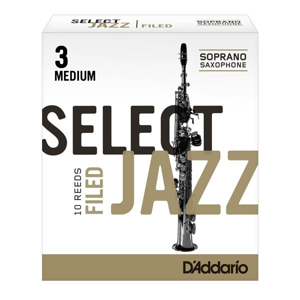 Rico Selct Jazz Filed soprano sax reeds