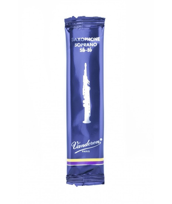 Vandoren Traditional, single reed, soprano sax
