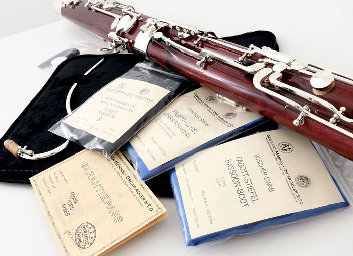 Oscar Adler children's bassoon model 1350P