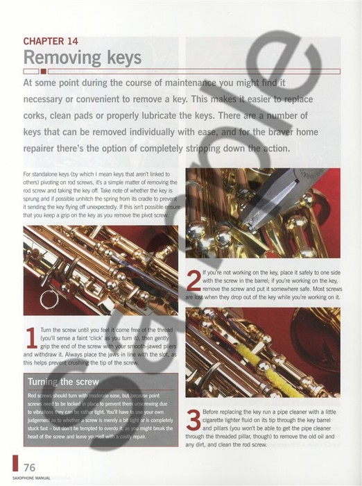 Saxophone Manual af Stephen Howard