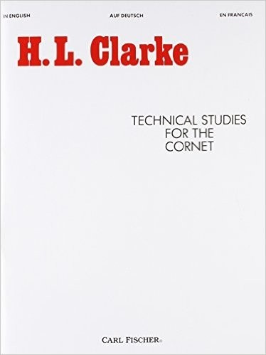 H. L. Clarke Technical Studies for the Cornet