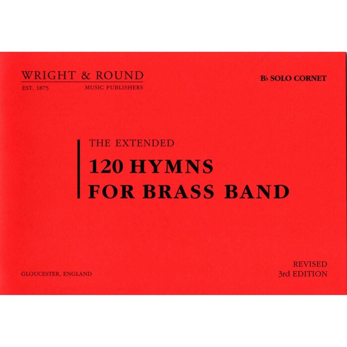 120 Hymns for Brass Band A5 - full set