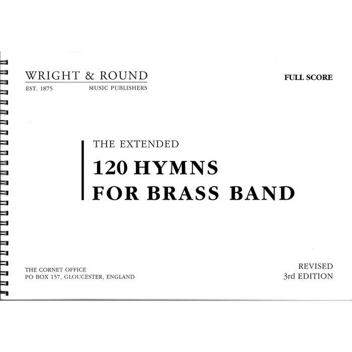 120 Hymns for Brass Band A4