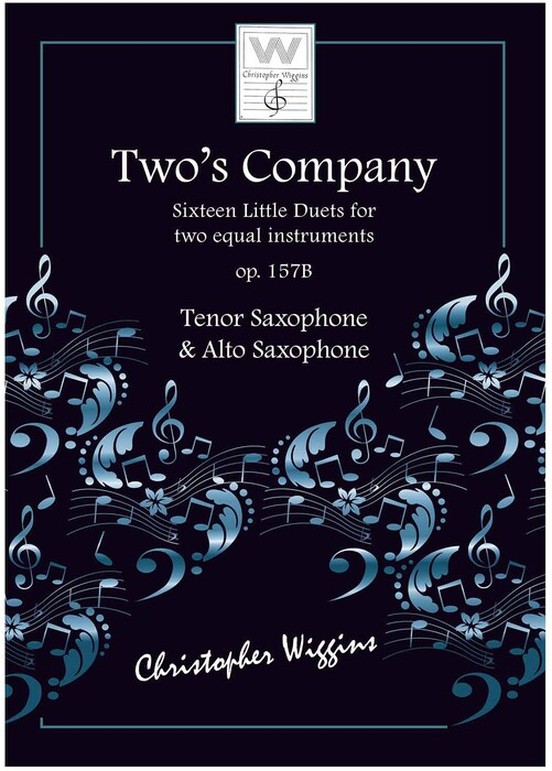 Two's Company for Alto and Tenor Saxophone