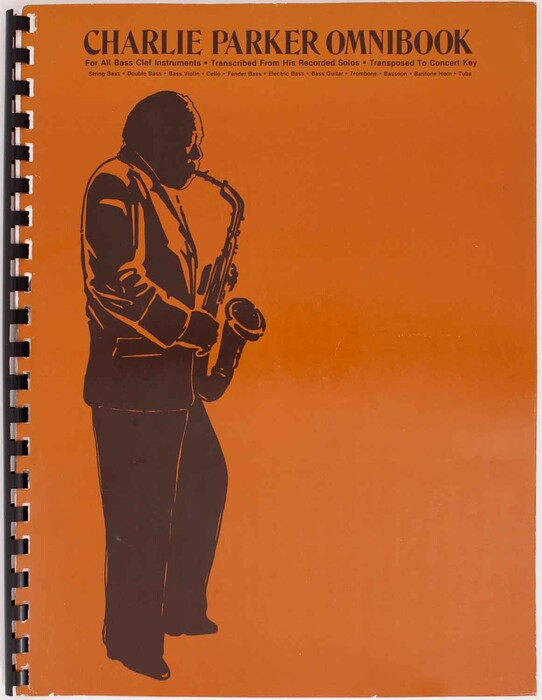 Charlie Parker Omnibook for all Bass Clef Instrument
