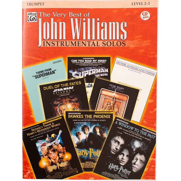 The Very Best of John Williams Instrumental Solos for Trumpet