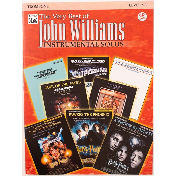 The Very Best of John Williams Instrumental Solos for Trombone