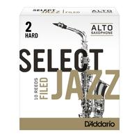 Rico Select Jazz Filed alto sax reeds