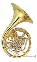 Yamaha French horn, YHR-668II -F/Bb
