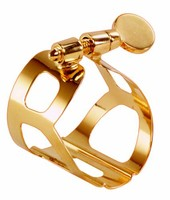 BG Tradition ligature for baritone sax (gold plated)