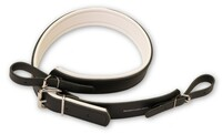 Tuba leather strap w/2 loops
